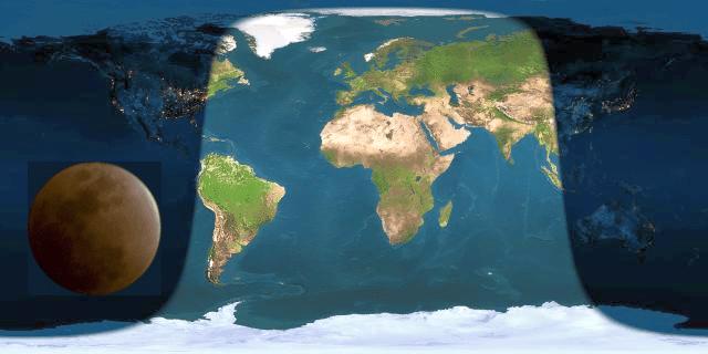 éclipse lunaire totale 8 octobre 2014